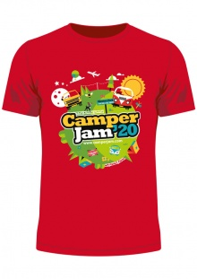 Camper Jam 2020 - T-Shirt Pre-Order (collect at the show)