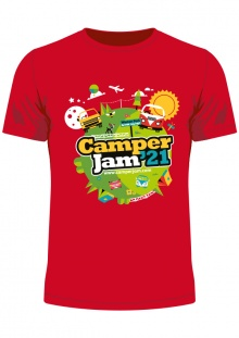 Camper Jam 2021 - T-Shirt Pre-Order (collect at the show)