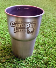 Camper Jam - Stainless Steel Pint Cup Pre-Order (collect at the show)